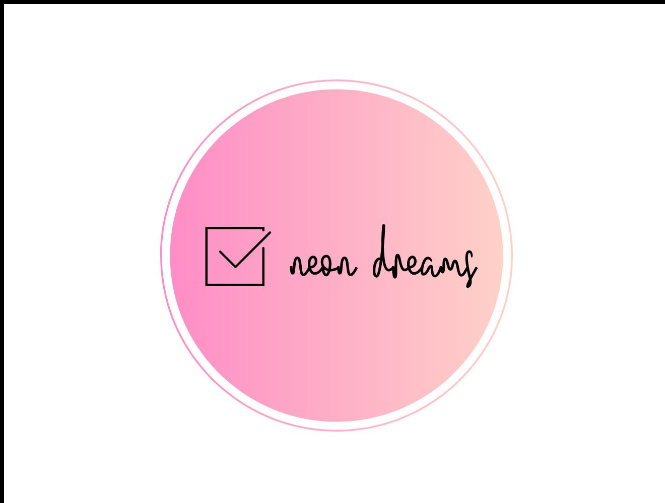 neon dreams diary